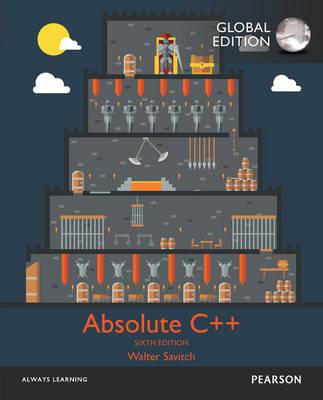 Absolute C++ with My...
