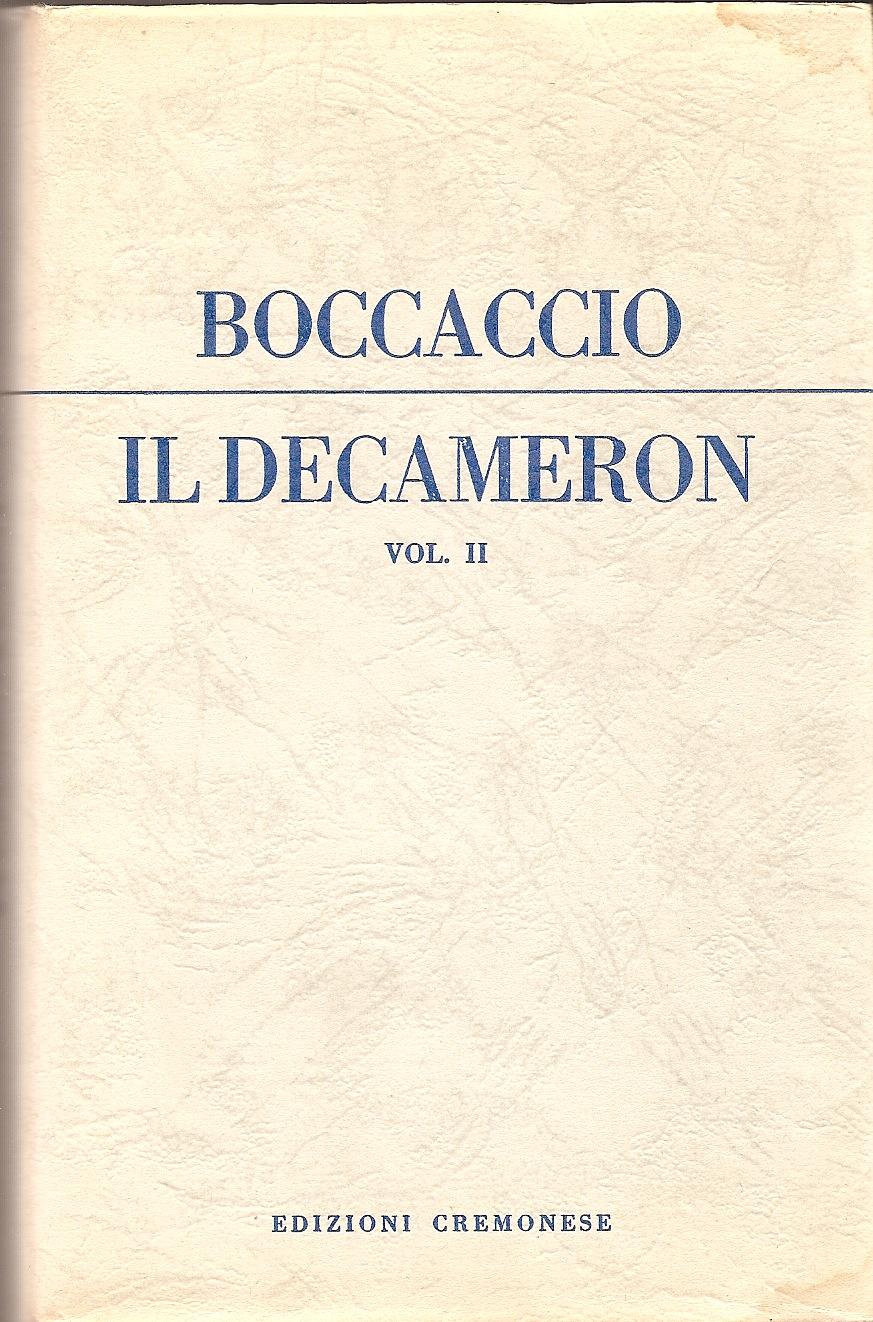 Il Decameron vol.II