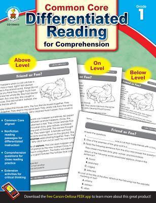 Common Core Differentiated Reading for Comprehension, Grade 1