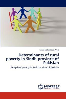 Determinants of rural poverty in Sindh province of Pakistan