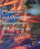 Production and operations management manufacturing and services Irwin/McGraw-Hill series in operations and decision sciences