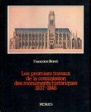 Les premiers travaux de la Commission des monuments historiques