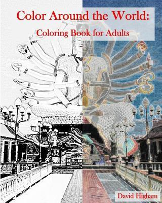 Color Around the World Adult Coloring Book
