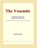 The Yosemite (Webster's French Thesaurus Edition)