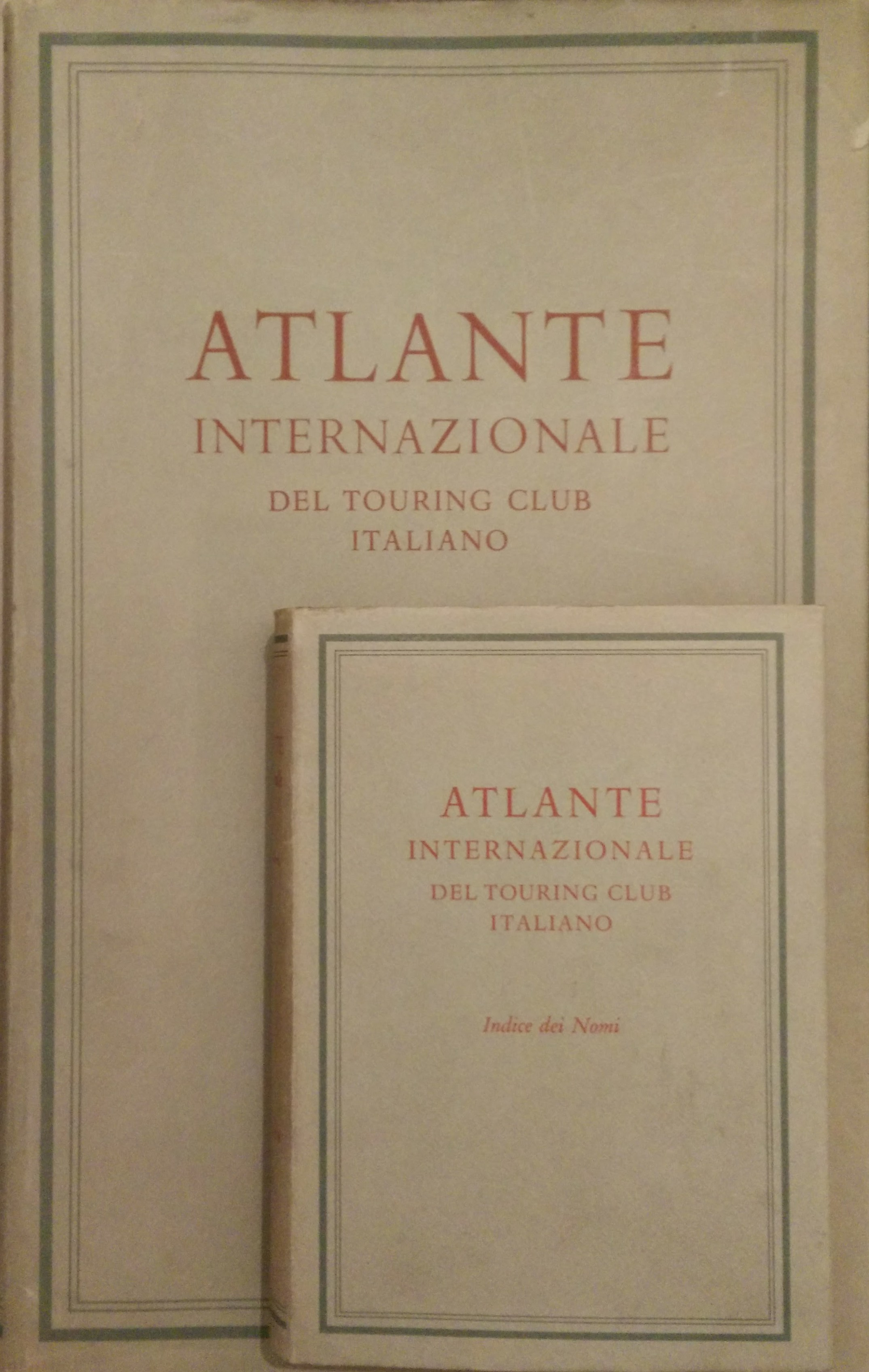 Atlante internazionale del Touring Club Italiano