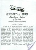 Neanderthal Flute