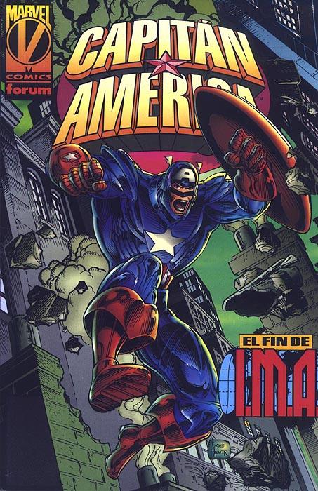 Capitán América: El fin de I.M.A. #1 (de 2)