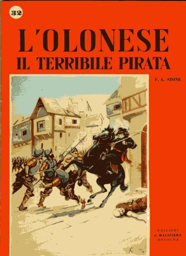 L'Olonese il terribile pirata