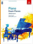 Paino Exam Pieces 2013-14 Grade 8