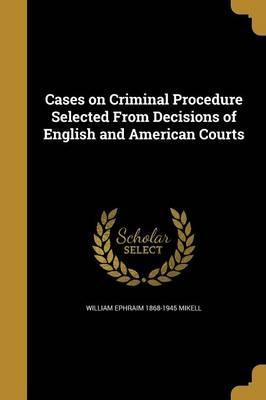 CASES ON CRIMINAL PROCEDURE SE