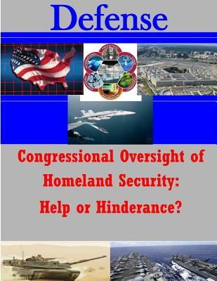Congressional Oversight of Homeland Security
