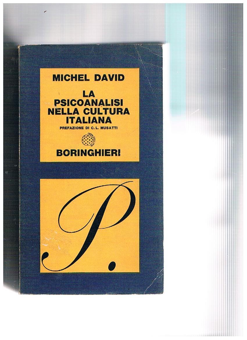 La psicanalisi nella cultura italiana
