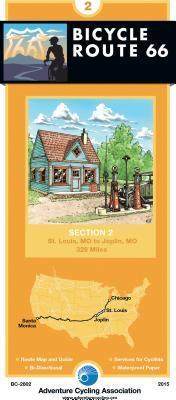 Bicycle Route 66 St. Louis, Missouri to Joplin, Missouri, 328 Miles