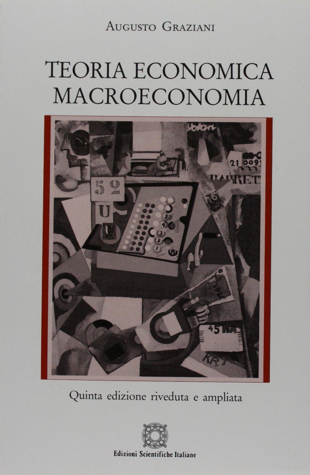 Teoria economica. Macroeconomia