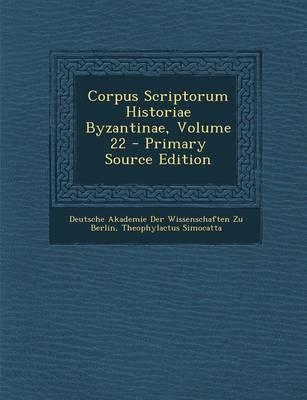 Corpus Scriptorum Hi...