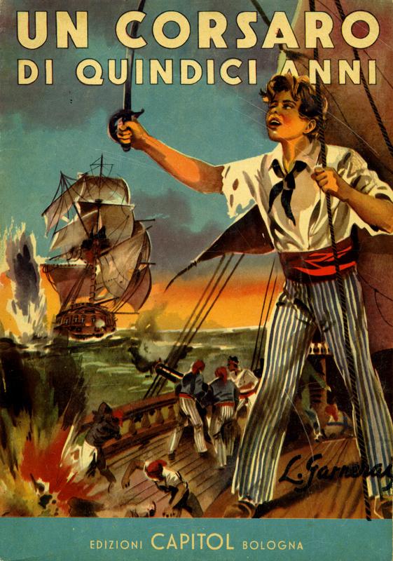 Un corsaro di quindici anni
