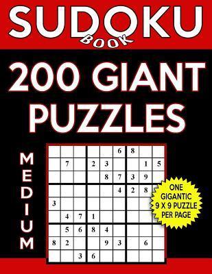 Sudoku Book 200 Medium Giant Puzzles