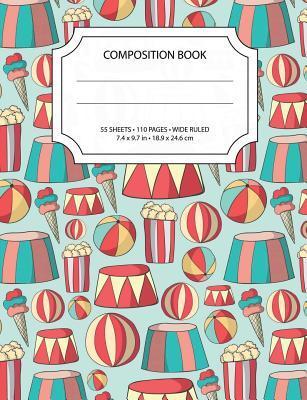 Circus Composition Notebook