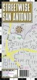 Streetwise San Antonio Map - Laminated Center City Street Map of San Antonio, Texas - Folding pocket size travel map