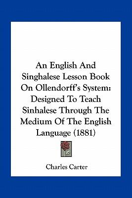 An English and Singhalese Lesson Book on Ollendorff's System
