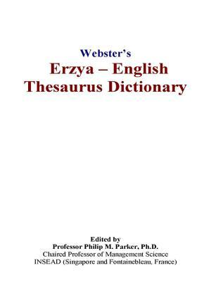 Webster's Erzya - English Thesaurus Dictionary