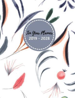 Ten Year Planner 2019 - 2028 Fruta