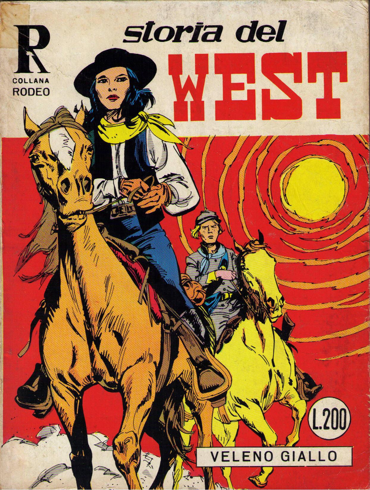 Storia del west n.26 (Collana Rodeo n.56)