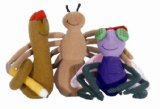 Diary of a Worm & Friends Finger Puppet Playset