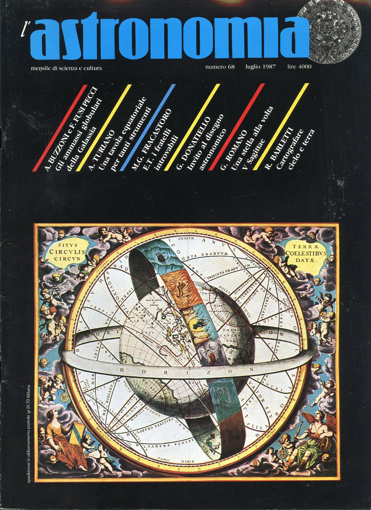 L'Astronomia, Anno IX, n.68