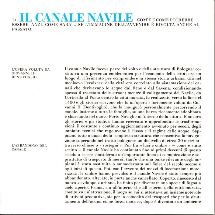 Il canale Navile