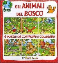 Gli animali del bosco. Libro puzzle. Ediz. illustrata