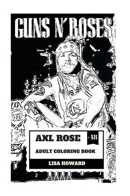 Axl Rose Adult Coloring Book