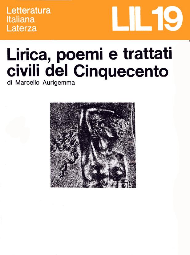 Lirica poemi e trattati civili del Cinquecento