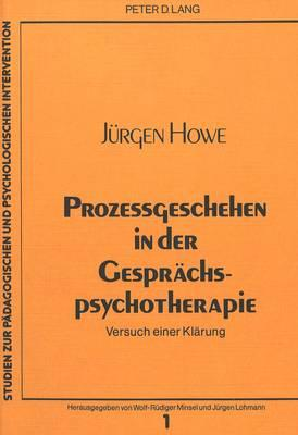 Prozessgeschehen in der Gesprächspsychotherapie