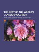 The Best of the World's Classics Volume 9
