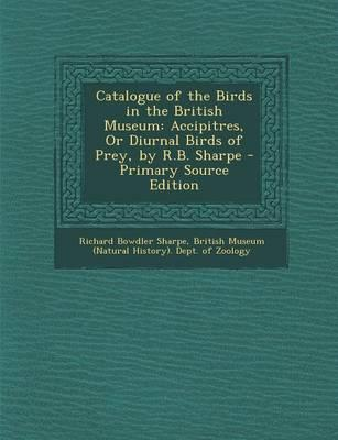 Catalogue of the Birds in the British Museum
