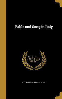 FABLE & SONG IN ITALY