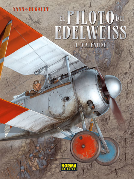 El piloto del Edelweiss #1 (de 3)