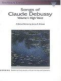 Songs of Claude Debussy