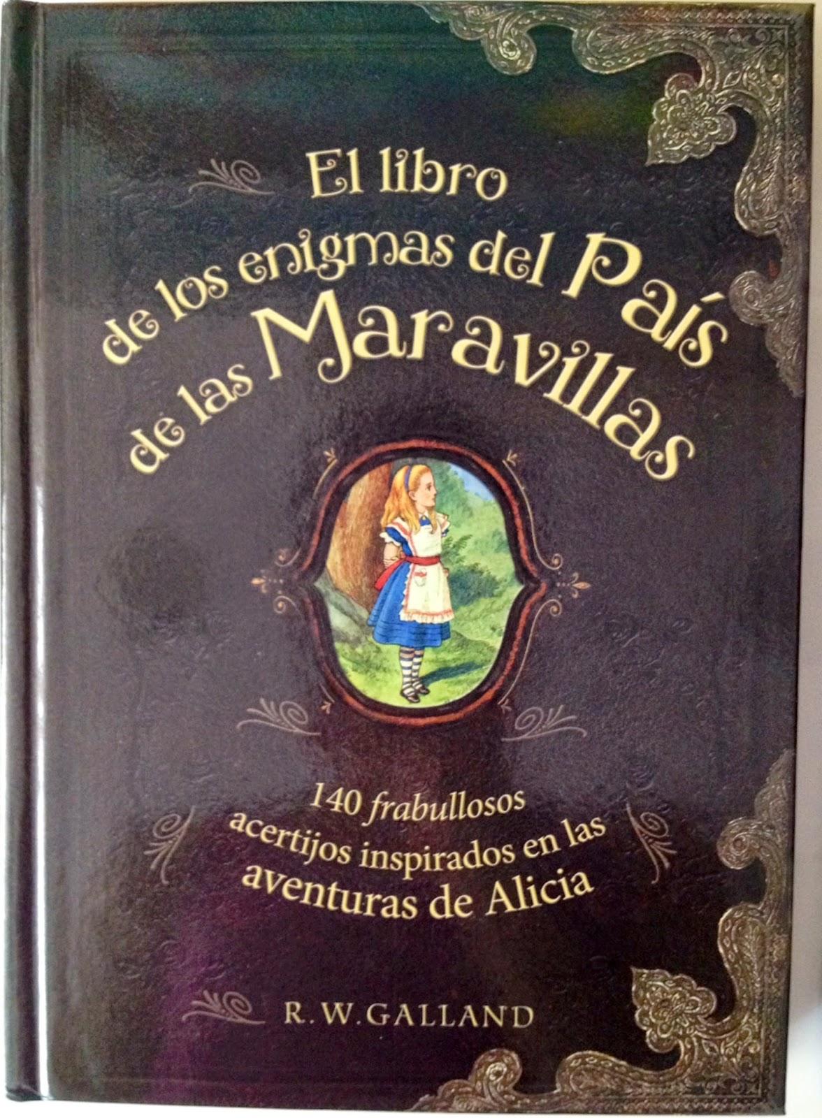 El libro de los enigmas del País de las Maravillas