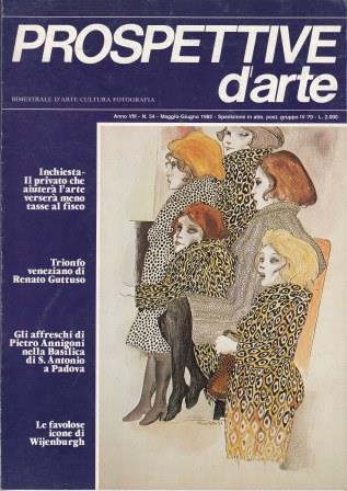 Prospettive d'arte - Anno VIII - n. 54, maggio-giugno 1982
