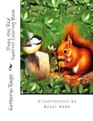 Dinky the Red Squirrel Coloring Book