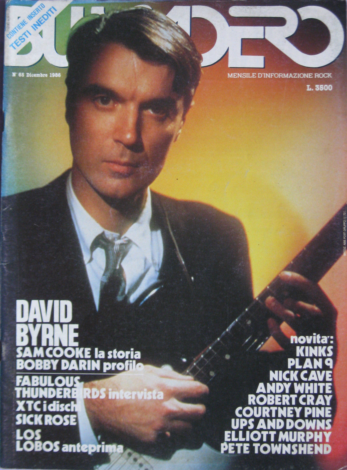 Buscadero n. 65 (dicembre1986)