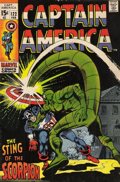 Captain America Vol.1 #122