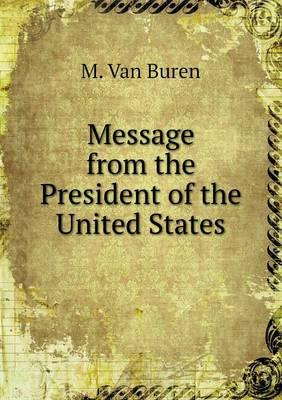 Message from the President of the United States