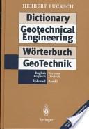 Wörterbuch GeoTechnik