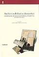 Archivi nobiliari e domestici