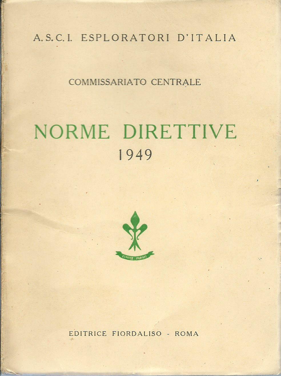 Norme Direttive 1949