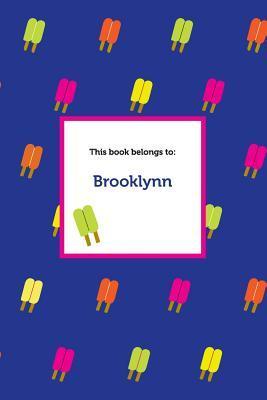 Etchbooks Brooklynn, Popsicle, Blank