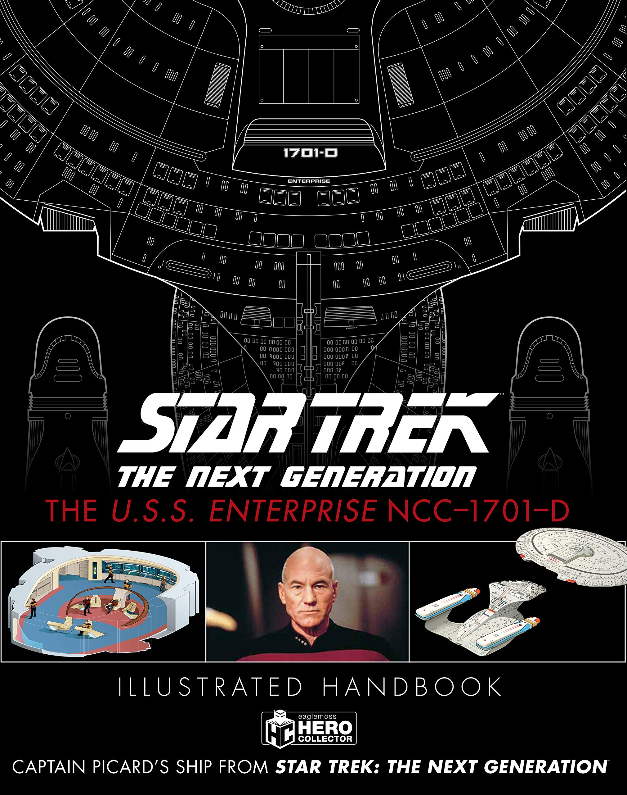 Star Trek: The Next Generation. The U.S.S. Enterprise NCC-1701-D